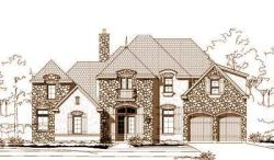 French-Country Style House Plans Plan: 19-1218