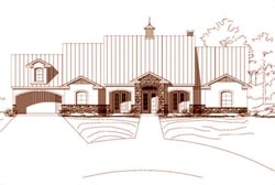 Traditional Style Home Design Plan: 19-1220