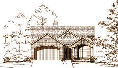 Traditional Style Floor Plans Plan: 19-1223