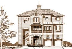 Coastal Style House Plans Plan: 19-1225