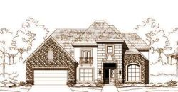 French-Country Style Home Design Plan: 19-1226