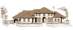 Mediterranean Style House Plans Plan: 19-123