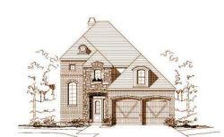 European Style Home Design Plan: 19-1232