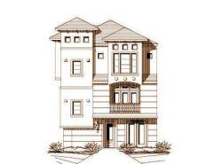 Mediterranean Style Home Design Plan: 19-1239