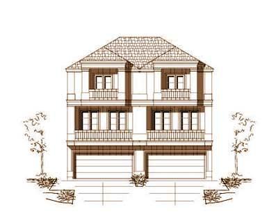 European Style House Plans Plan: 19-1251