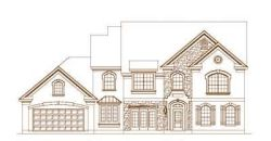 French-Country Style Home Design Plan: 19-1262