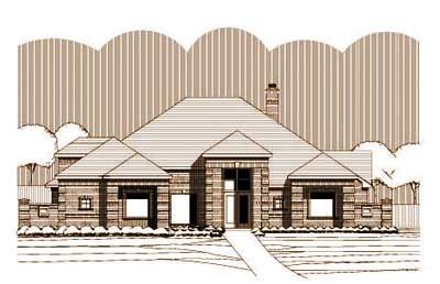 European Style House Plans Plan: 19-1268