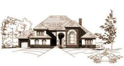 Traditional Style Home Design Plan: 19-127