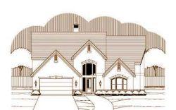 European Style House Plans Plan: 19-1294