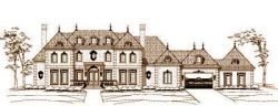 European Style House Plans Plan: 19-1305