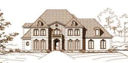 European Style House Plans Plan: 19-132