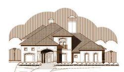 Tuscan Style Floor Plans Plan: 19-1334