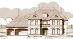 Traditional Style Home Design Plan: 19-1341