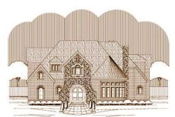 French-Country Style Floor Plans Plan: 19-1345