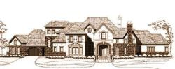 French-Country Style House Plans Plan: 19-1350