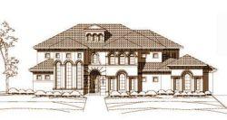Mediterranean Style Home Design Plan: 19-136