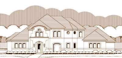Mediterranean Style House Plans Plan: 19-1363