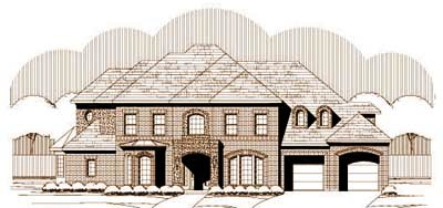 Traditional Style Floor Plans Plan: 19-1371