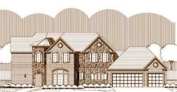 Traditional Style Home Design Plan: 19-1372
