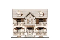 Southern Style House Plans Plan: 19-1376