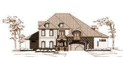Mediterranean Style Floor Plans Plan: 19-1399
