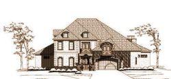 Mediterranean Style Home Design Plan: 19-1399