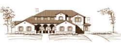 Mediterranean Style House Plans Plan: 19-140