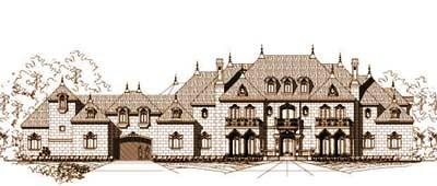 European Style Floor Plans Plan: 19-1401