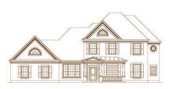 French-Country Style House Plans Plan: 19-1403