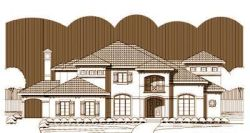 Mediterranean Style House Plans Plan: 19-1405