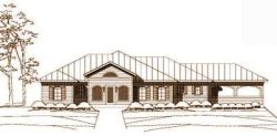 Country Style Home Design Plan: 19-142