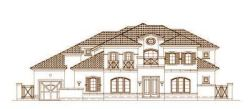 Mediterranean Style Floor Plans Plan: 19-1420
