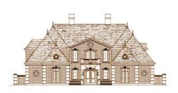European Style House Plans Plan: 19-1435
