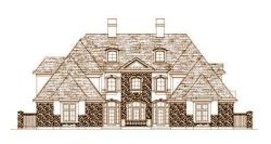 French-Country Style House Plans Plan: 19-1436