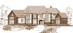 French-Country Style House Plans Plan: 19-144