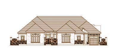 Traditional Style Floor Plans Plan: 19-1443