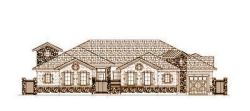 French-Country Style Floor Plans Plan: 19-1444