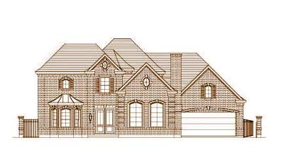 Traditional Style Home Design Plan: 19-1447