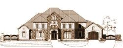 Tuscan Style Floor Plans Plan: 19-145