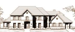 European Style Floor Plans Plan: 19-1453