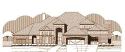 Traditional Style Home Design Plan: 19-1458
