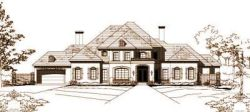 French-Country Style Floor Plans Plan: 19-146