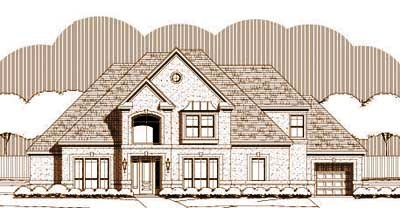 European Style House Plans Plan: 19-1460