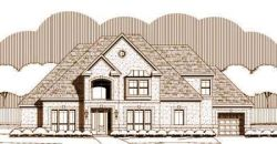 European Style Home Design Plan: 19-1460