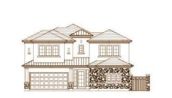 Tuscan Style Home Design Plan: 19-1466