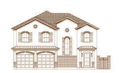 Tuscan Style Floor Plans Plan: 19-1471
