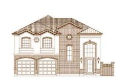 Traditional Style Home Design Plan: 19-1472