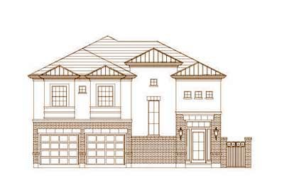Traditional Style Home Design Plan: 19-1473