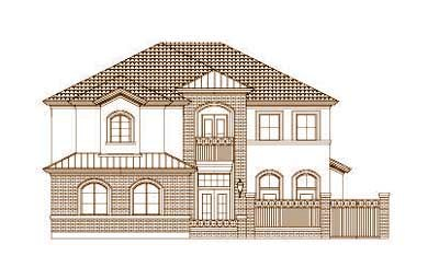 Traditional Style House Plans Plan: 19-1480