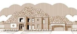Traditional Style Home Design Plan: 19-1482